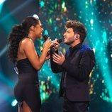 Blas Cantó interpreta un tema con Nia Correia en 'Destino Eurovisión'