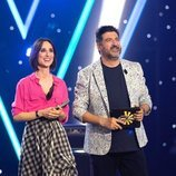 Tony Aguilar y Julia Varela en 'Destino Eurovisión'