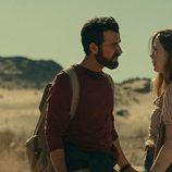 Justin Theroux y Melissa George en 'La costa de los mosquitos'