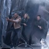 Anthony Mackie, Emily VanCamp y Sebastian Stan en 'Falcon y el Soldado de Invierno'