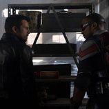 Sebastian Stan y Anthony Mackie en 'Falcon y el Soldado de Invierno'