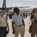 Álvaro Mel, Clarke Peters y Ana Polvorosa en 'La Fortuna'