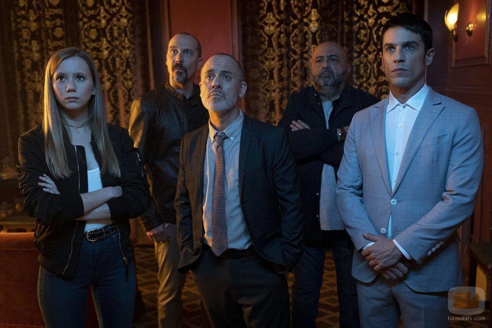 Parte del elenco de 'Estoy vivo' en su cuarta temporada