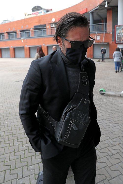 David Bustamante viaja hasta Barcelona para el funeral de Álex Casademunt