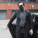 David Bustamante viaja a Barcelona para despedirse de Álex Casademunt