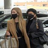 Natalia y Chenoa viajan a Barcelona para asistir al funeral de Álex Casademunt