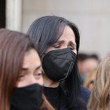 Rosa López, rota tras la muerte de Àlex Casademunt