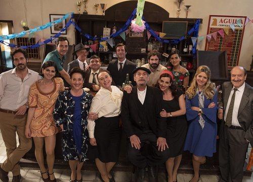 El reparto de 'L'Alqueria Blanca' en la temporada 12