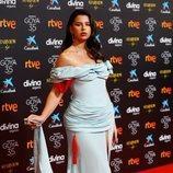 Nathy Peluso en la alfombra roja de los Premios Goya 2021