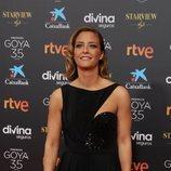 María Casado en la alfombra roja de los Premios Goya 2021