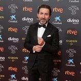 Antonio de la Torre en la alfombra roja de los Premios Goya 2021