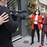 Isabel Díaz Ayuso junto a María Teresa Campos en la primera entrega de 'La Campos Móvil'