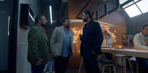 Paco, Mariano y Lucas en el regreso de 'Los hombres de Paco'