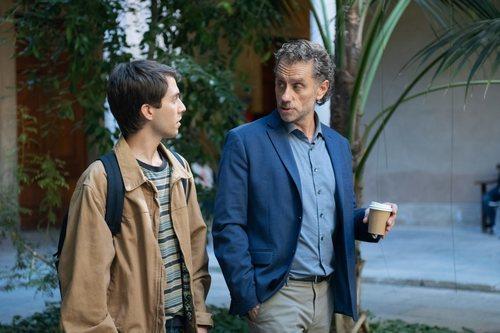 Pere Vallribera en el 2x02 de 'Merlí: Sapere Aude'