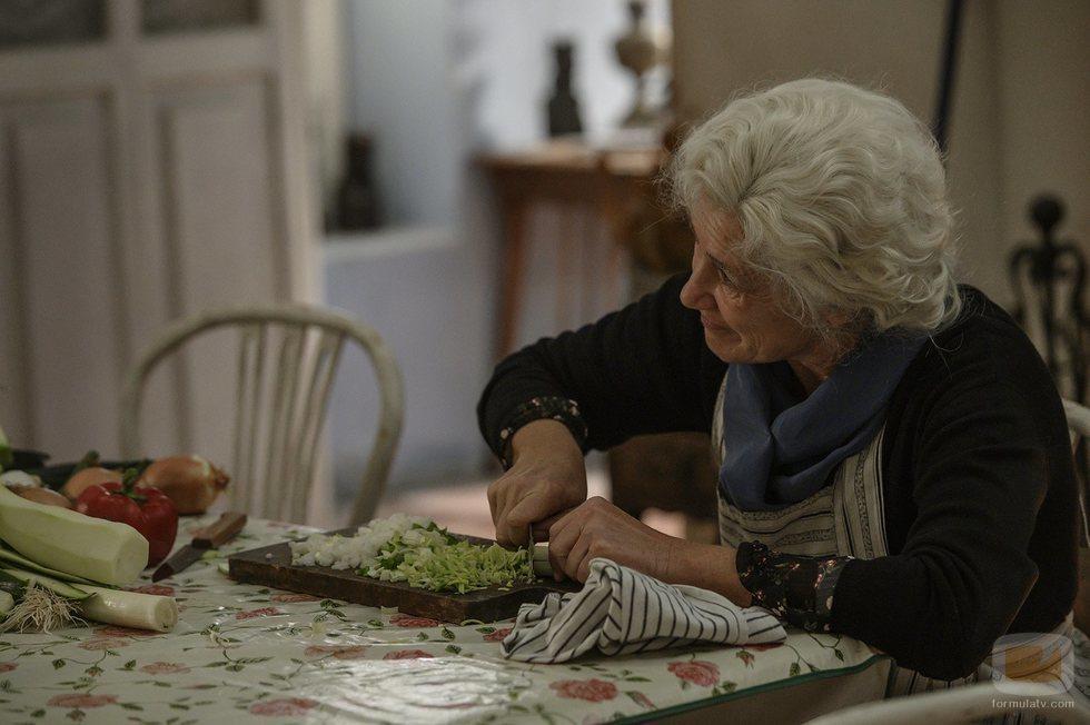 """Ana Duato en el episodio """"Proyecto Abuelos"""" de 'Cuéntame cómo pasó'"""