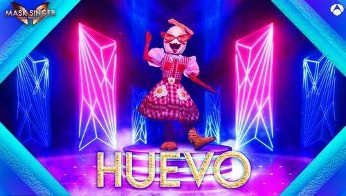 El Huevo más americano llega a la segunda edición de 'Mask Singer: Adivina quién canta'