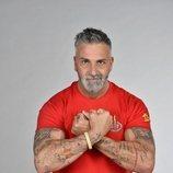 Carlos Alba posa como concursante de 'Supervivientes 2021'