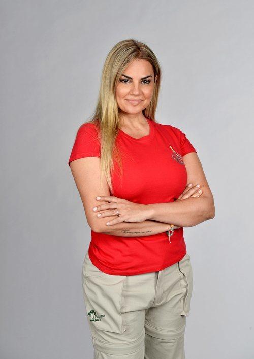 Sylvia Pantoja posa como concursante de 'Supervivientes 2021'