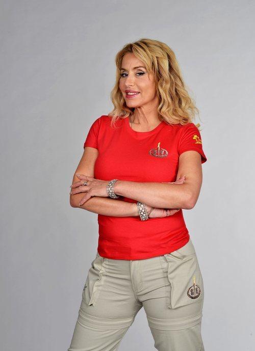 Valeria Marini posa como concursante de 'Supervivientes 2021'