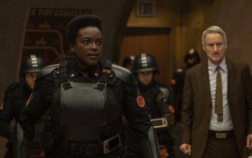 Wunmi Mosaku y Owen Wilson en 'Loki'