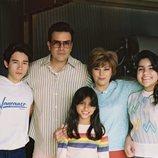 La familia Quintanilla en 'Selena: La serie'
