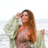 Lara Sajen posa en bañador en las playas de 'Supervivientes 2021'