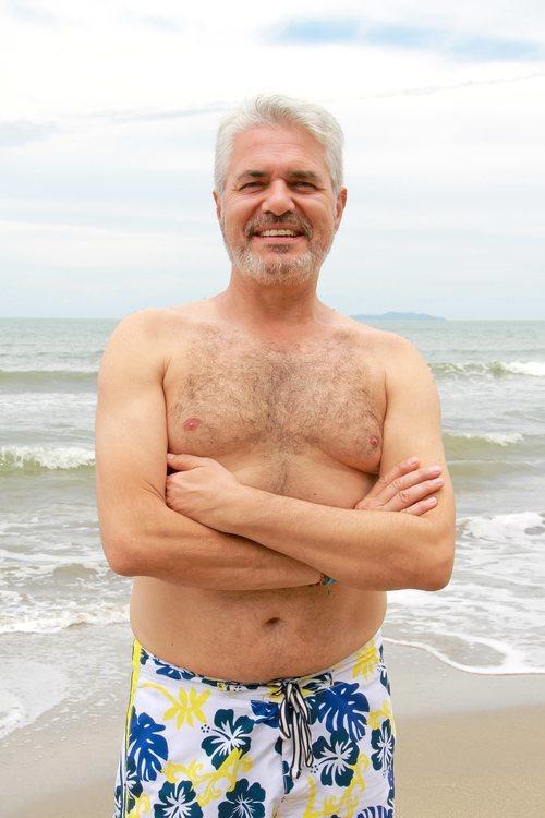 Agustín Bravo posa en bañador en 'Supervivientes 2021'
