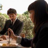 Andrés Velencoso y Martina Cariddi en la cuarta temporada de 'Élite'
