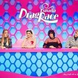 El panel de 'Drag Race España', formado por Supremme de Luxe, Ana Locking y los Javis