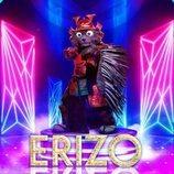 Erizo está que pincha en la segunda edición de 'Mask Singer: Adivina quién canta'