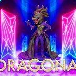 Dragona intimida con su fuego en la segunda edición de 'Mask Singer: Adivina quién canta'
