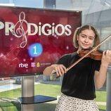 La violinista Sofía Rodríguez, ganadora de 'Prodigios 3'