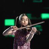 Sofía Rodríguez actuando en la final de 'Prodigios 3'