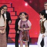 Sofía Rodríguez, Jorge García y Lorena Bonnín, finalistas de 'Prodigios 3'