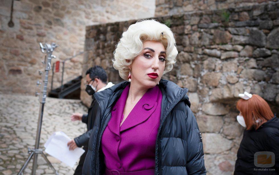Rossy de Palma en el rodaje de 'Érase una vez...pero ya no'