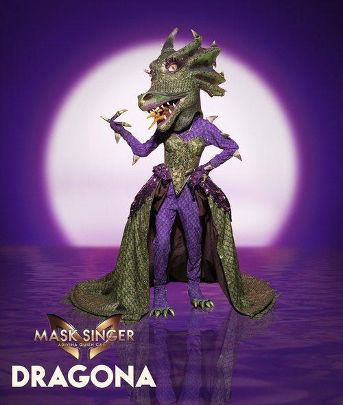 Dragona, máscara de la segunda edición de 'Mask Singer: Adivina quién canta'