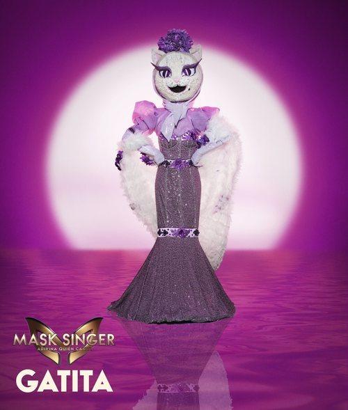 Gatita, máscara de la segunda edición de 'Mask Singer: Adivina quién canta'