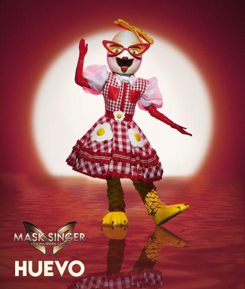 Huevo, máscara de la segunda edición de 'Mask Singer: Adivina quién canta'