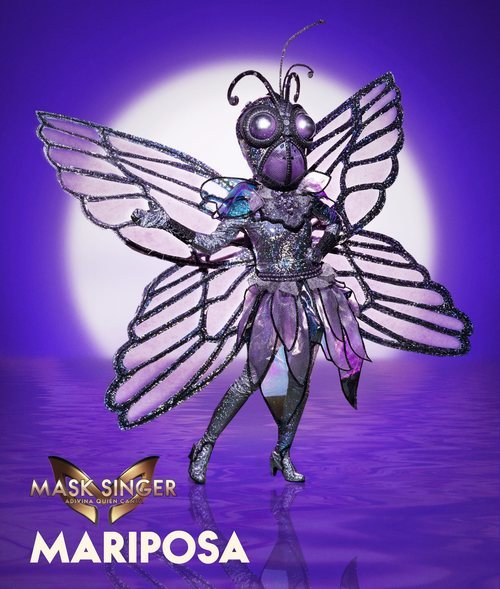 Mariposa, máscara de la segunda edición de 'Mask Singer: Adivina quién canta'
