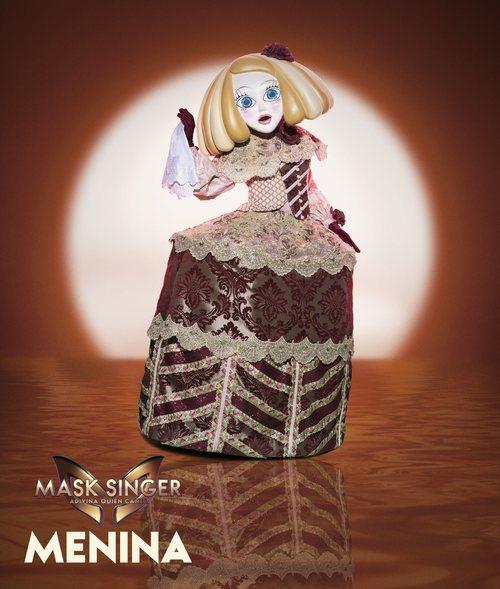 Menina, máscara de la segunda edición de 'Mask Singer: Adivina quién canta'