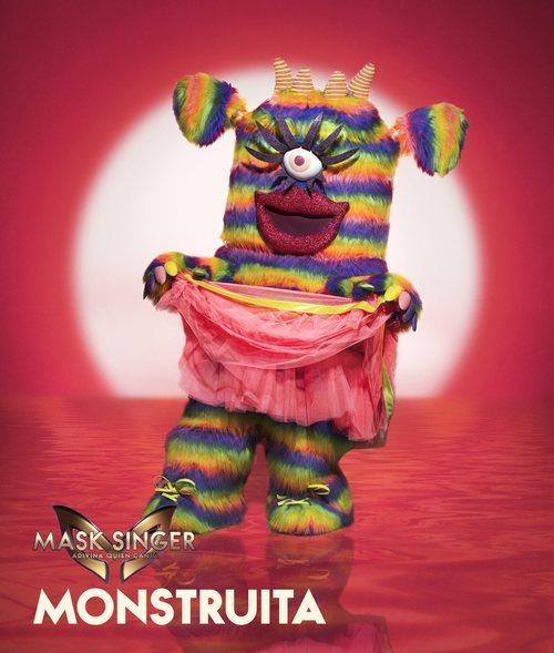 Monstruita, máscara de la segunda edición de 'Mask Singer: Adivina quién canta'