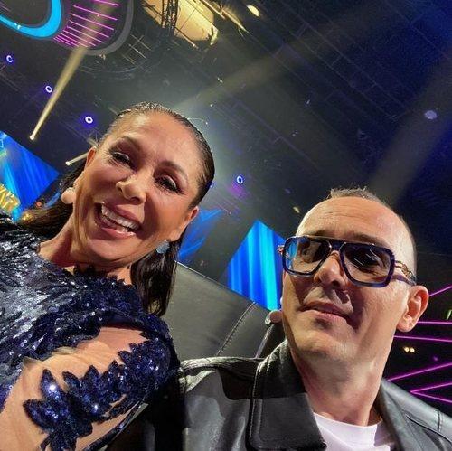 Risto Mejide e Isabel Pantoja, miembros del jurado de 'Top Star. ¿Cuánto vale tu voz?'