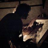 Aidan Turner como Leonardo da Vinci en 'Leonardo'