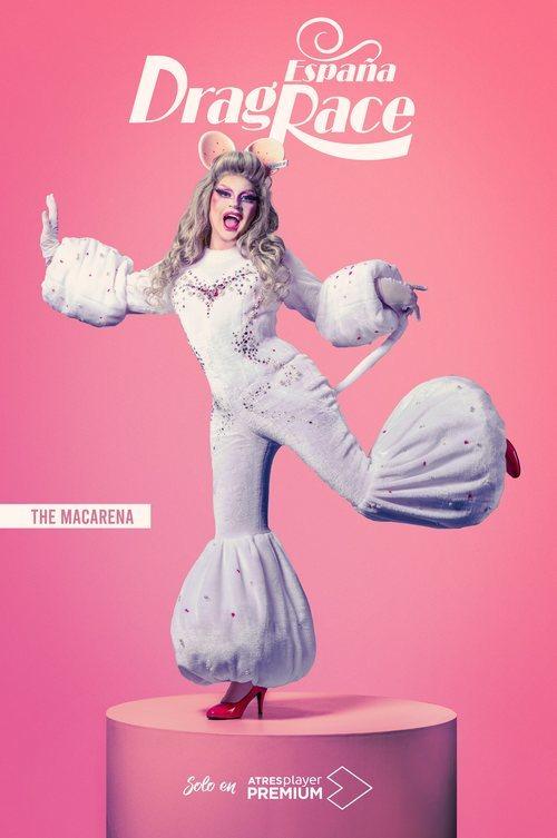 The Macarena, concursante de 'Drag Race España'