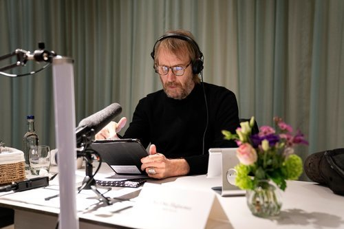 Rhys Ifans en la lectura de guion de 'House of the Dragon'