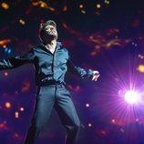 """Blas Cantó en el primer ensayo de """"Voy a quedarme"""" en Eurovisión 2021"""