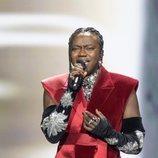 Tusse, representante de Suecia, en la Semifinal 1 de Eurovisión 2021