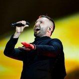 Vasil, representante de Macedonia del Norte, en la Semifinal 1 de Eurovisión 2021