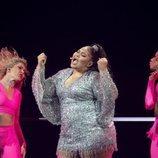 Destiny, representante de Malta, en la Semifinal 1 de Eurovisión 2021