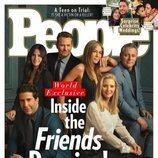 Portada de People con los protagonistas de 'Friends' en su reencuentro
